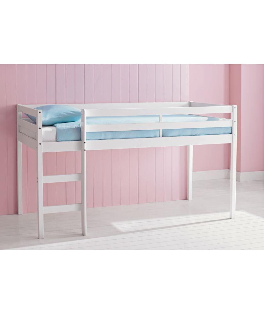 Buy Fun Mid Sleeper Single Bed Frame White At Argos Co