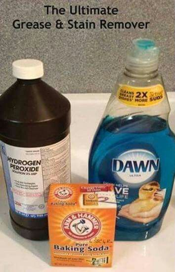 Grease and stain remover