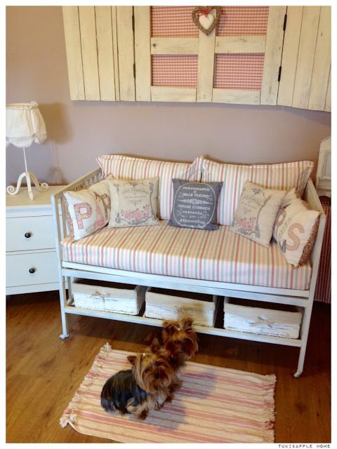 Reciclando una cuna vieja   diy beds, daybeds & non-upholstered ...