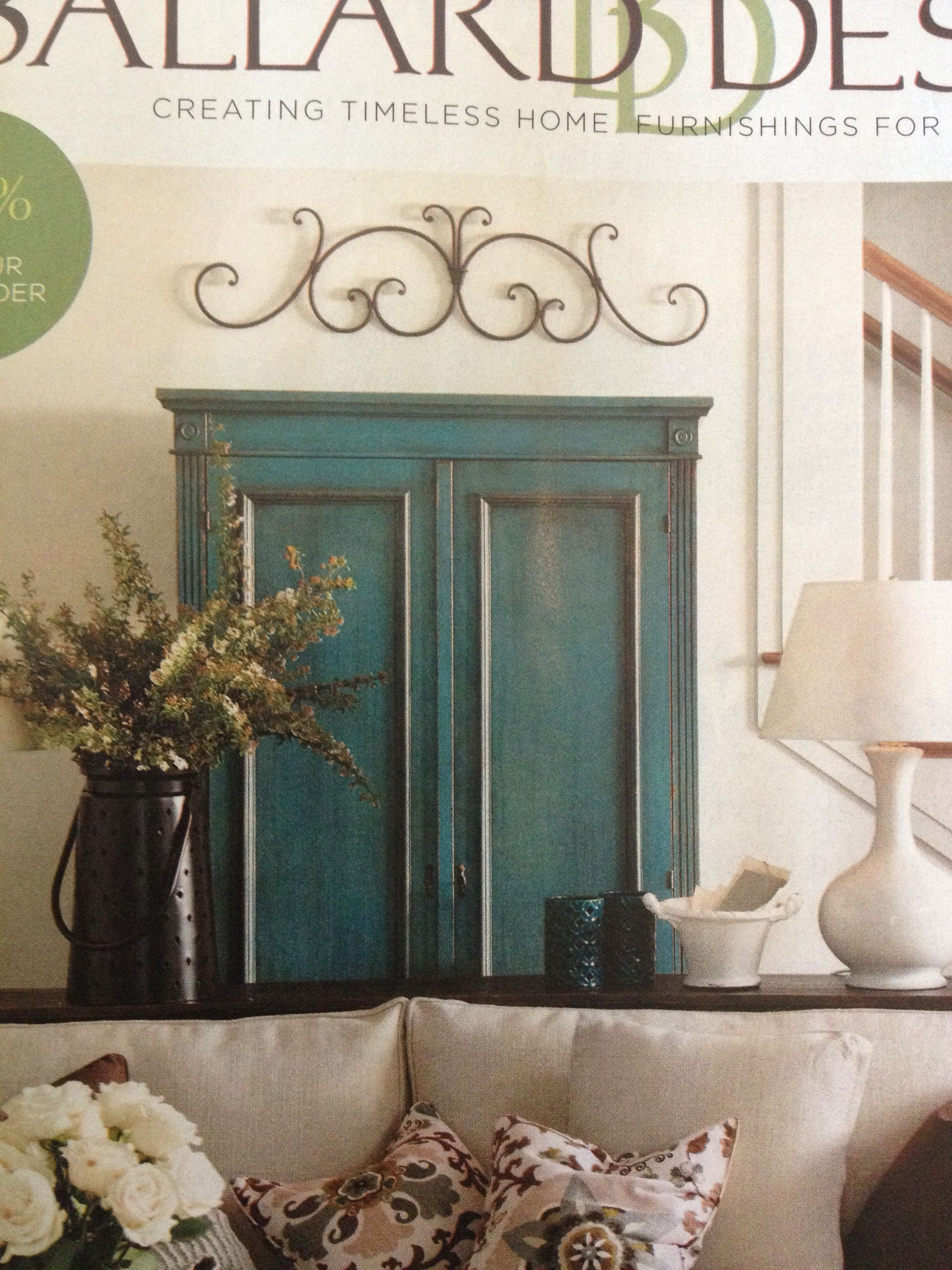 beautiful louis xvi armoire in distressed blueballard designs