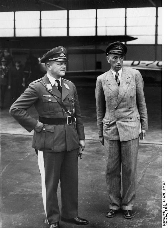 Milch and Osterkamp, Berlin, Germany, 1934