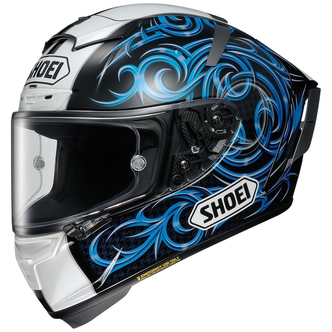 Shoei XFourteen Kagayama5 TC2 Blue motorcycle helmets