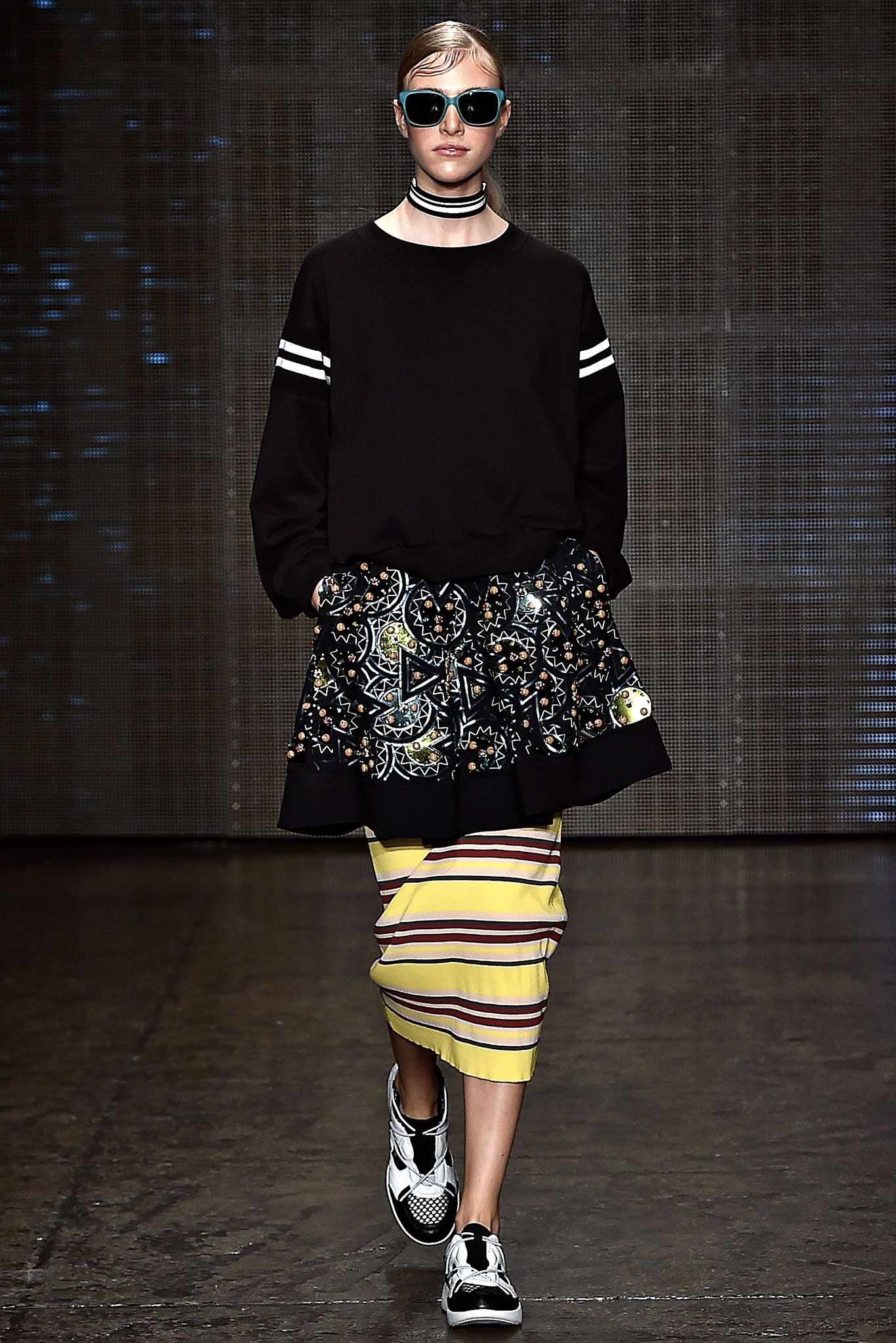 What I like from DKNY's Spring RTW 2015 collection