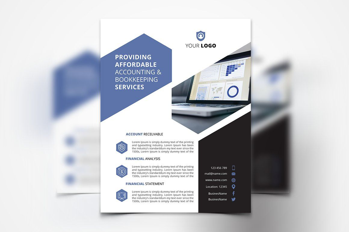 Accounting Services Flyer Accounting Services Flyer Template Accounting