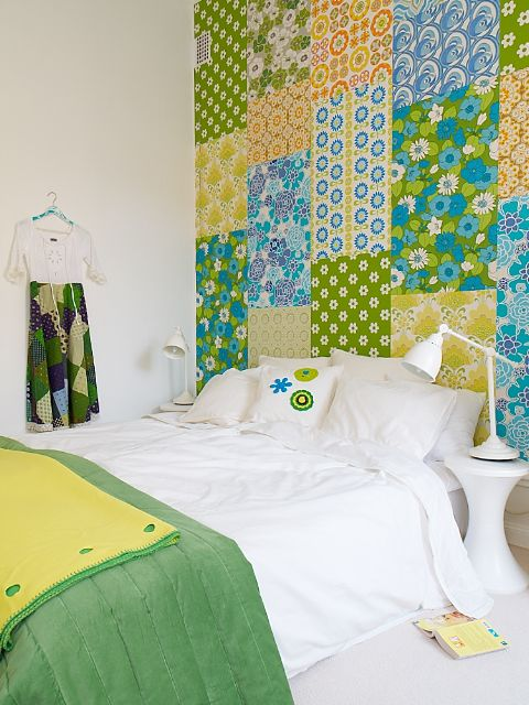 I am doing this to my spare bedroom it looks like a magical quilt