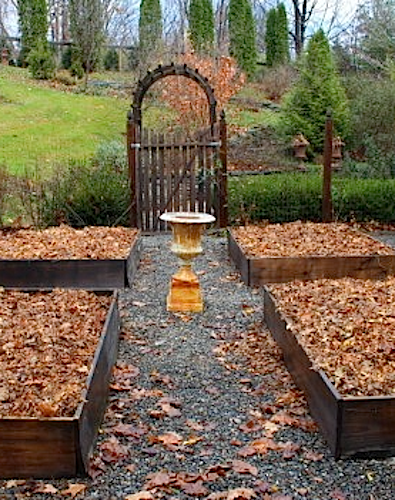 How i prepare my raised beds for winter space saving - Prepare vegetable garden for winter ...