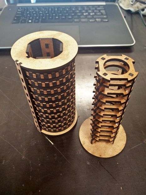 Laser Cut Cryptex Puzzle Box Laser Cutting Box And Cnc