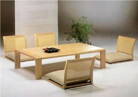 Japanese Dining Room Furniture From Hara Design Minimalist Dining Room Furniture Japanese Dining Table Dining Room Furniture Design