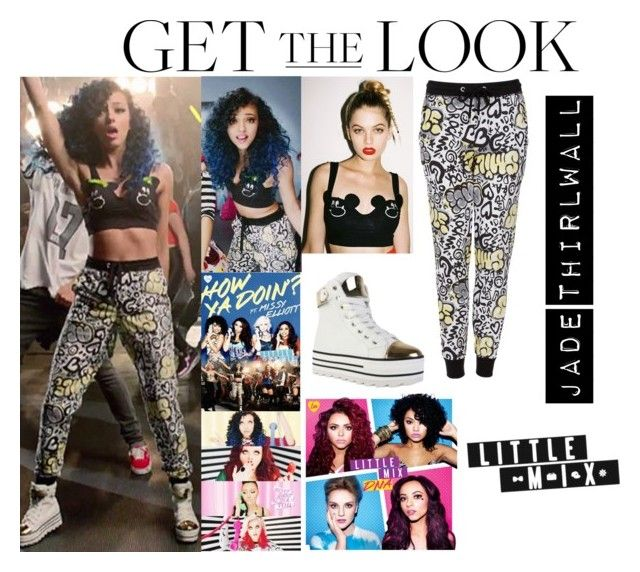 """Memories: Jade Thirlwall Little Mix How Ya Doin Music Video /April.2013"" by valensmilerstyle ❤ liked on Polyvore featuring moda, Lazy Oaf, Topshop, women's clothing, women, female, woman, misses y juniors"