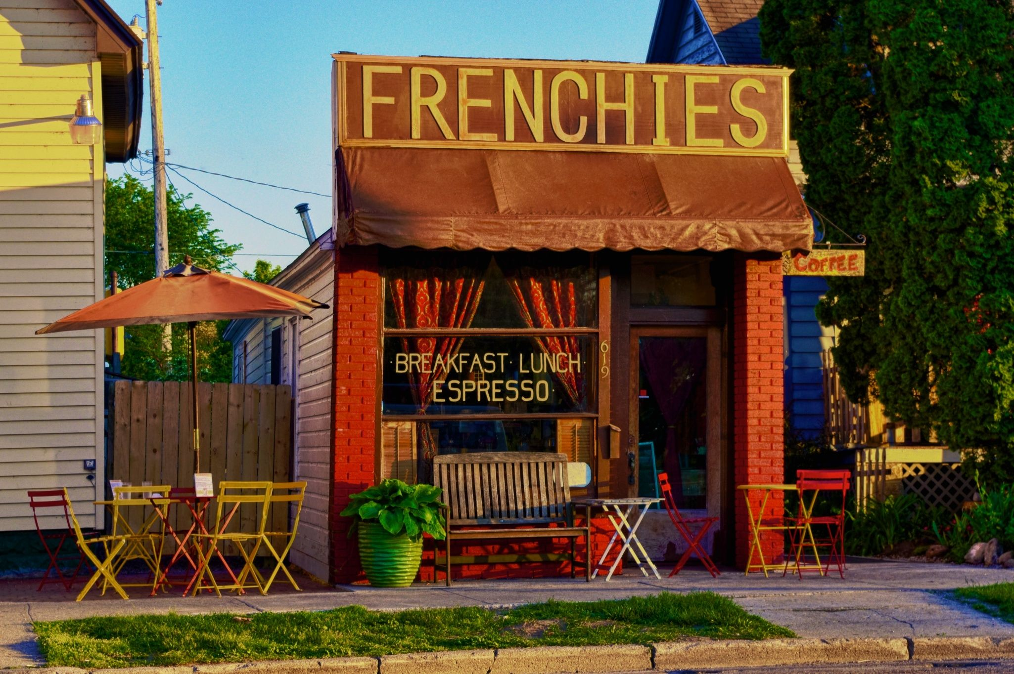 Famous Frenchies Don T Expect Great Service Expect A Quirky Guy With Great Food It S Th Traverse City Restaurants Traverse City Michigan Traverse City Mi