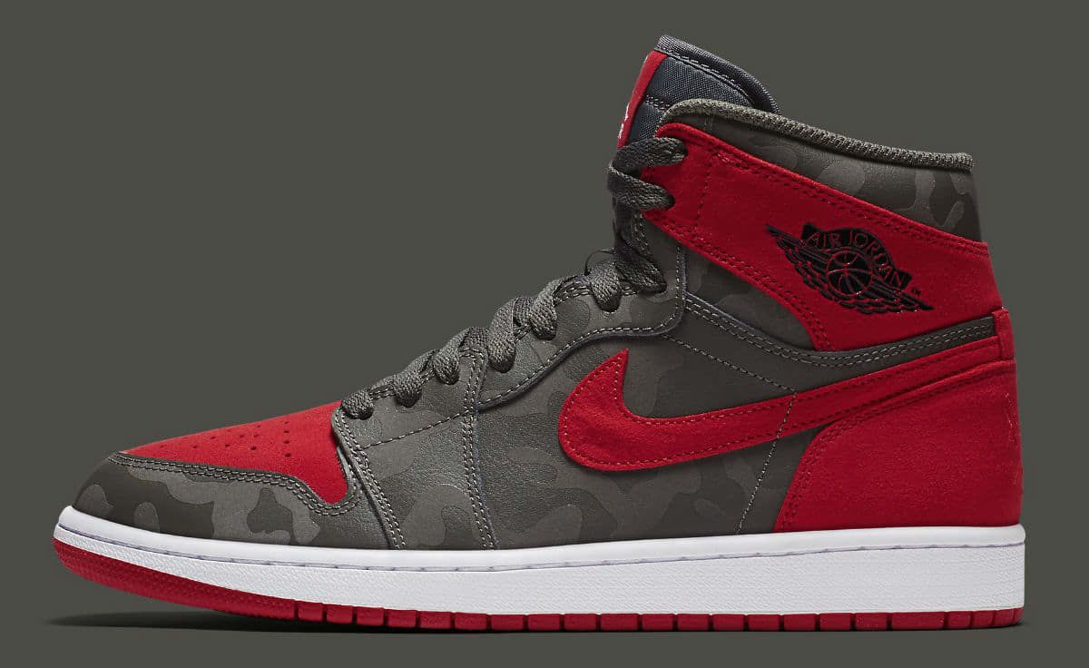 Air Jordan 1 Camo River Rock Red Release Date Profile AA3993-032