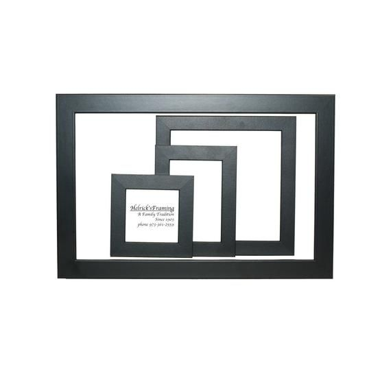 Black Picture Frames Hard To Find Sizes Up To 4x4 4x6 5x5 5x7 8x8 8x10 8 5x11 9x9 10x10 10x20 10x24 12x12 12x14 16x20 20x20 Any Custom Size Black Picture Frames Black