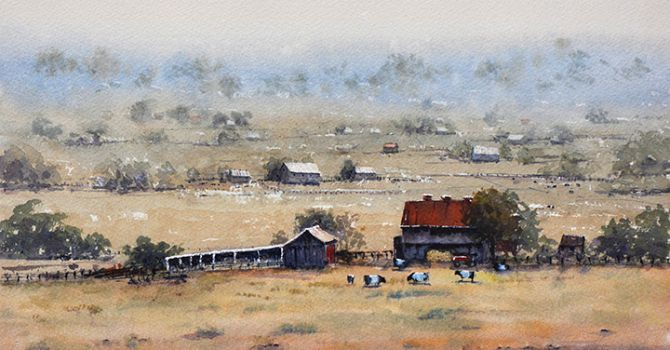 Paint landscapes w/ Judy Mudd! Berea, KY