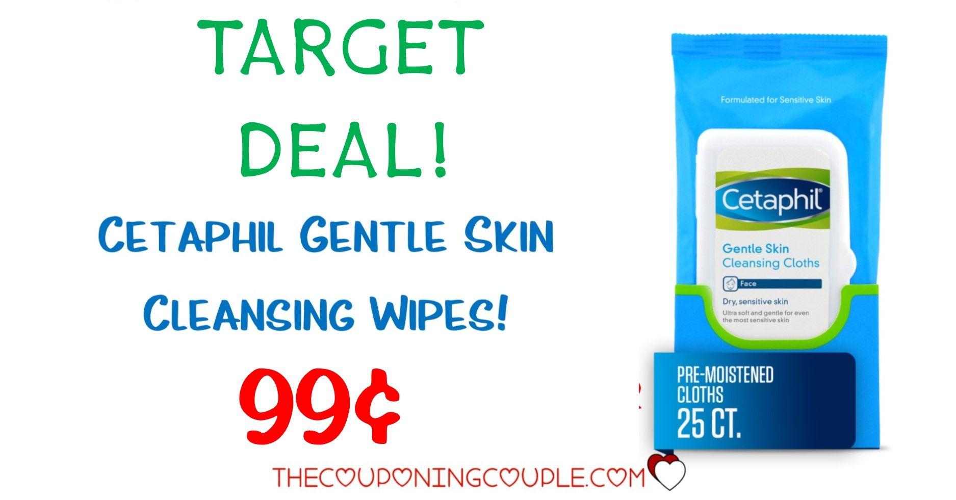 Cetaphil gentle skin cleansing cloths 149 target