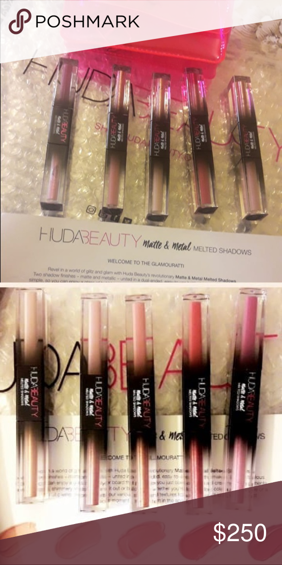 Huda beauty exclusive melted shadows pr Brand new fall