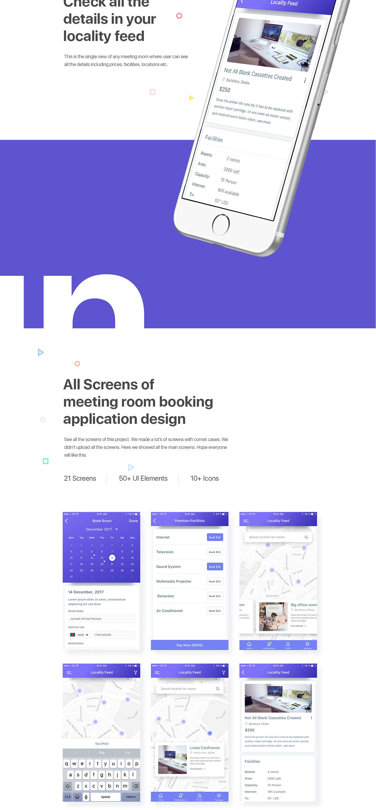 App To Design Your Room: IOS App Design Concept On Behance