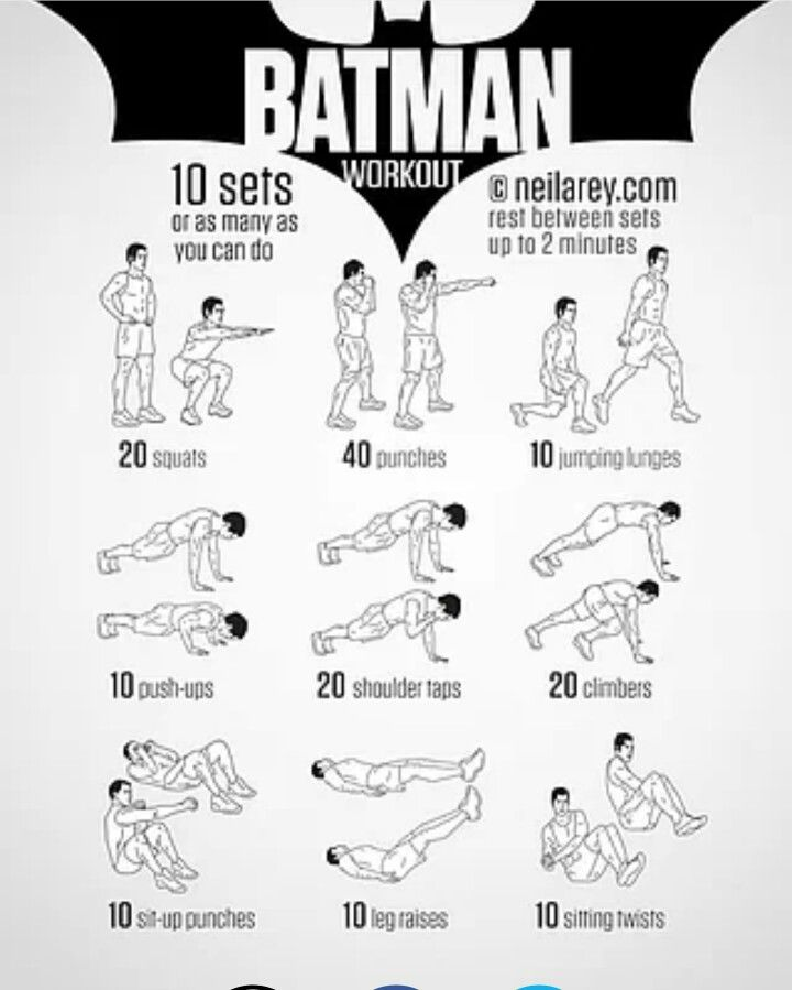 Preferenza Batman workout | Esercizi casa | Pinterest | Batman and Workout WN44