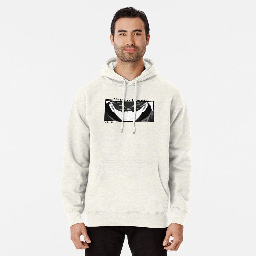 Satoru Gojou Jujutsu Kaisen Hoodie Pullover By Ice Man7 Pullover Hoodie Hoodies Hoodie Design