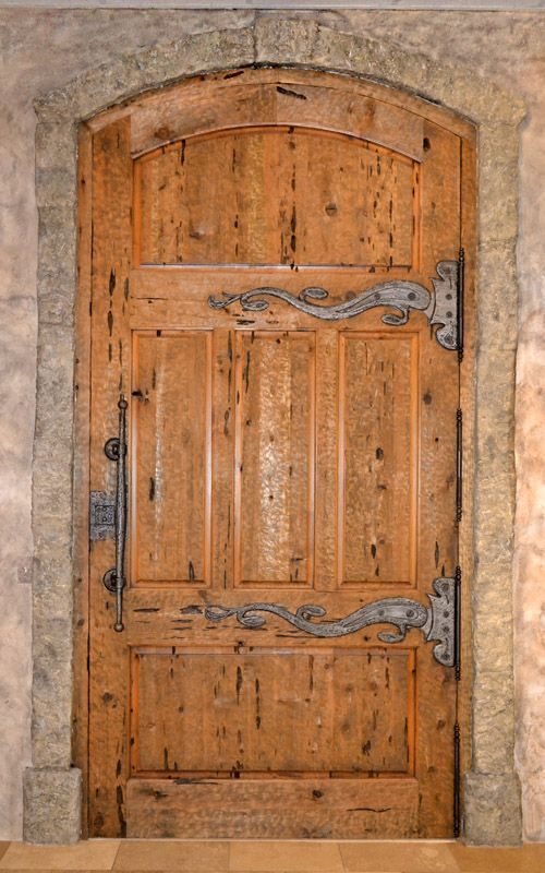 Medieval Door Iron Hardware Custom Designed Custom Wood Castle
