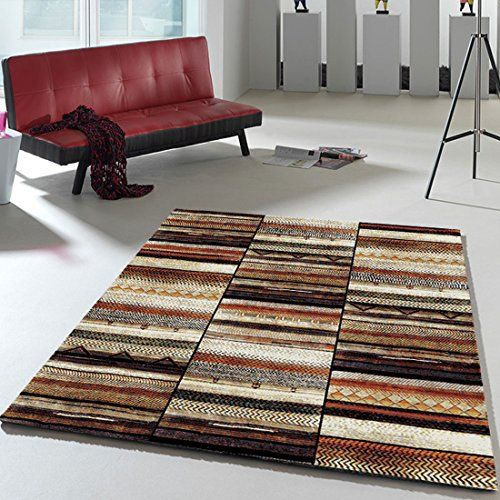 4507cd71ddce1 Tapis Salon Berber Morocco Band Multicolore 160 x 230 cm Tapis de Salon  Moderne Design