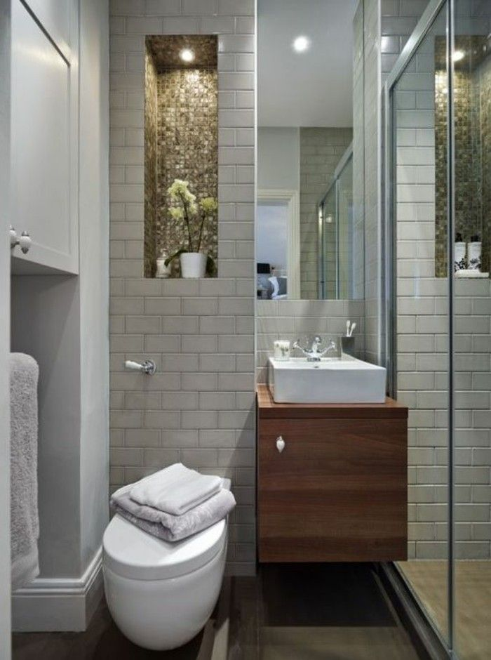 Comment aménager une salle de bain 4m2? | Lifestyle déco | Bathroom ...