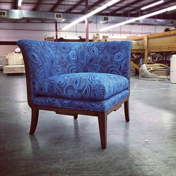 Is This The Same High Point Furniture Market: Bold Pops Of Blue At Theodore Alexander