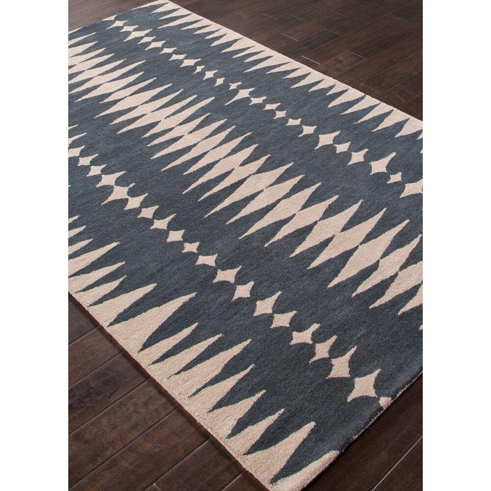 Jaipur En Casa Rug Ensign Blue Bijou Blue Candelabra Inc Wool Area Rugs Bliss Home And Design Rugs On Carpet