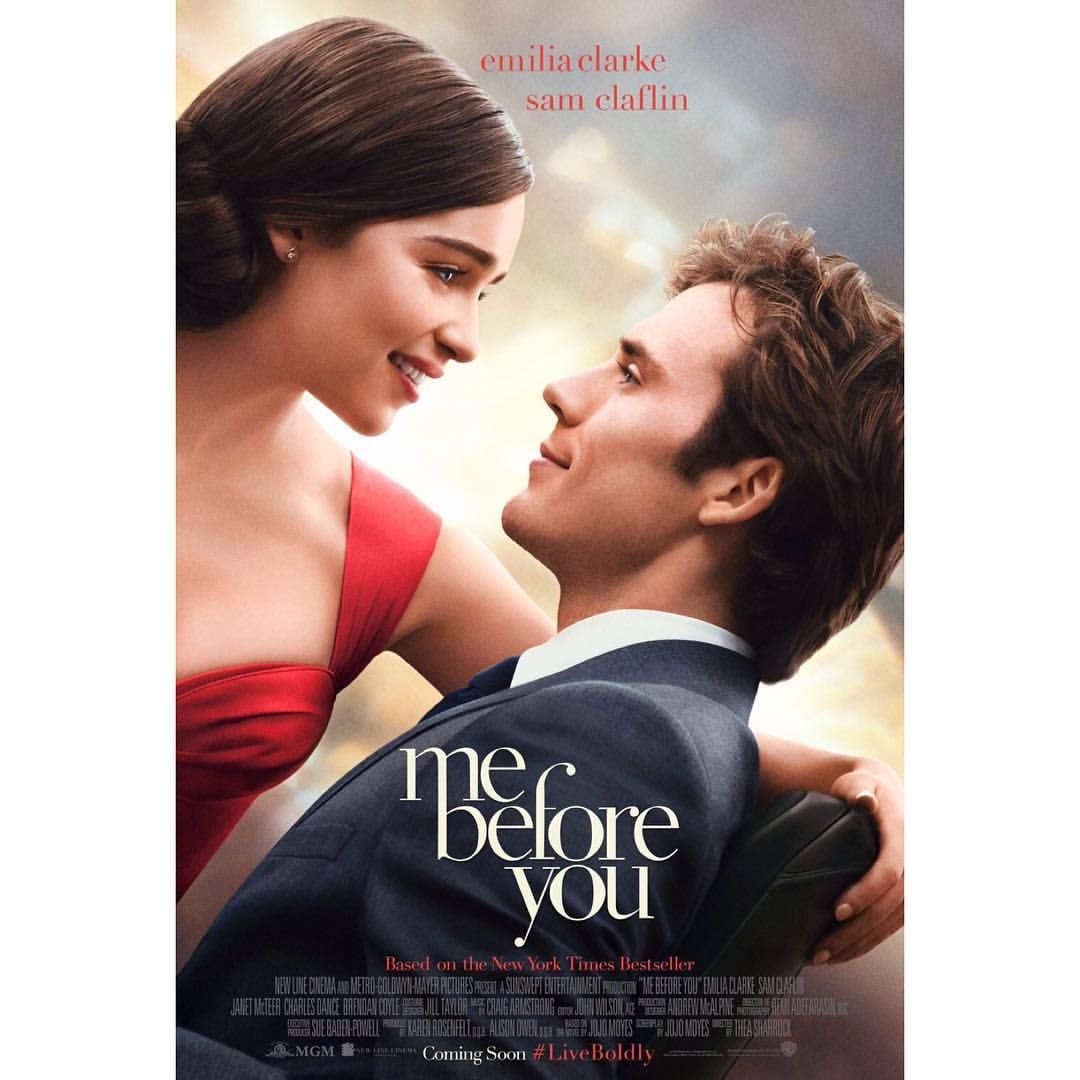 Sam Claflinus Me Before You movie Poster Movies To Be Seen