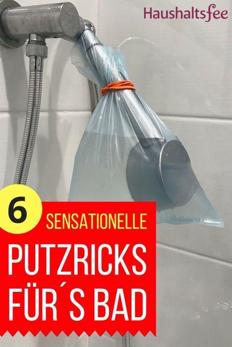 Sensationelle Putztricks fürs Badezimmer (mit Bildern