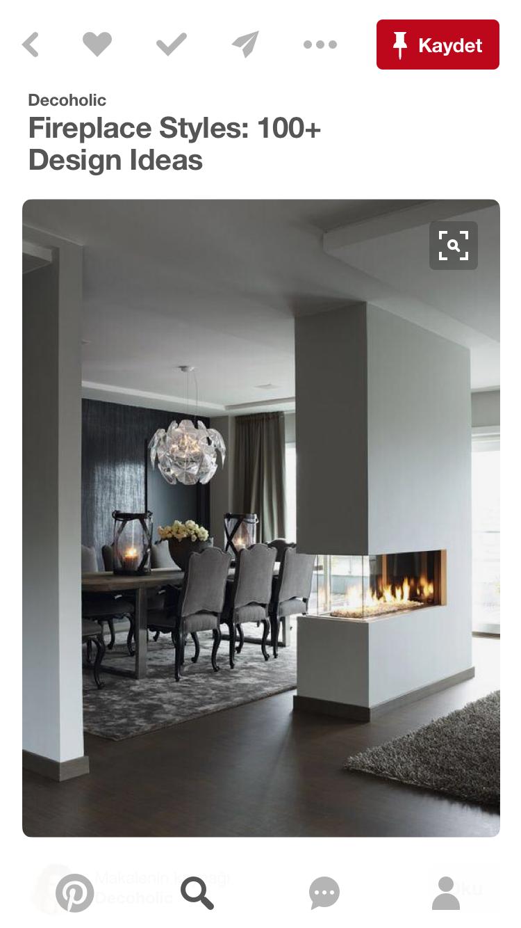 Pin von Ela Unes auf Fireplace | Pinterest