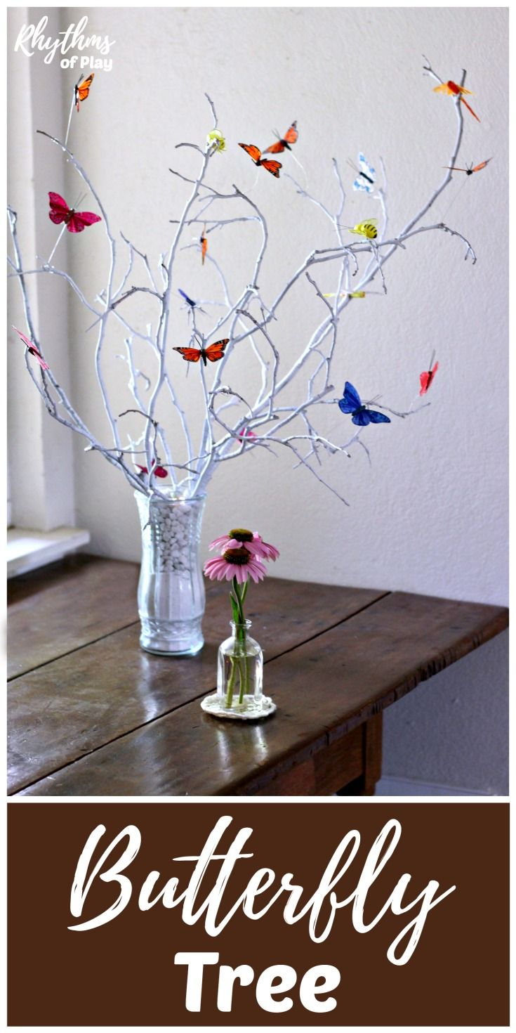 Gorgeous DIY Butterfly Tree Centerpiece | CREATE SHARE INSPIRE TOP ...