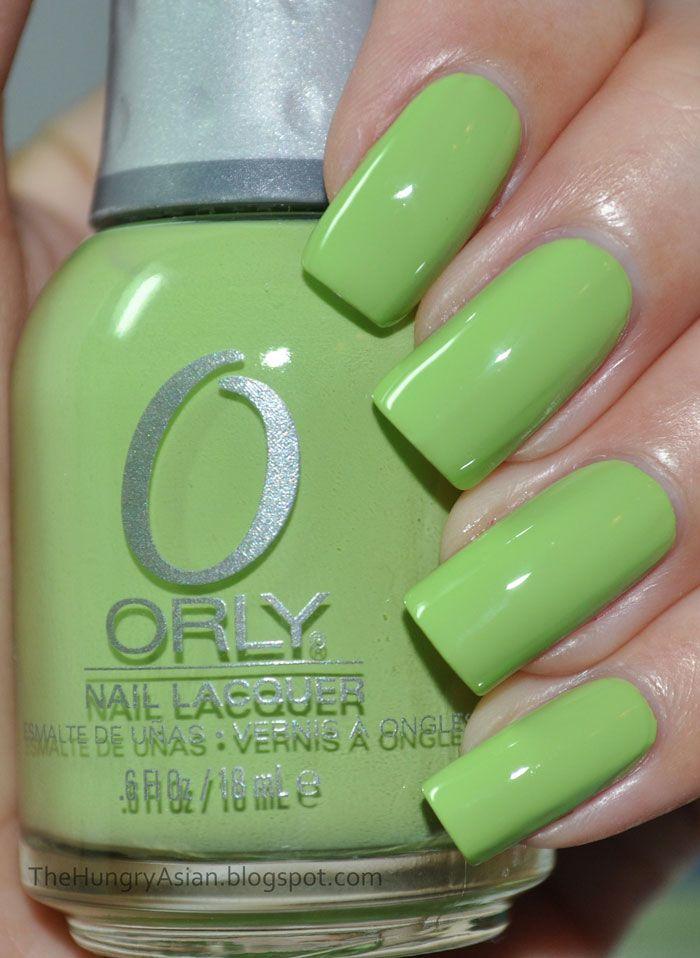 ORLY - Green Apple (s) | Decoración de uñas | Pinterest | Decoración ...