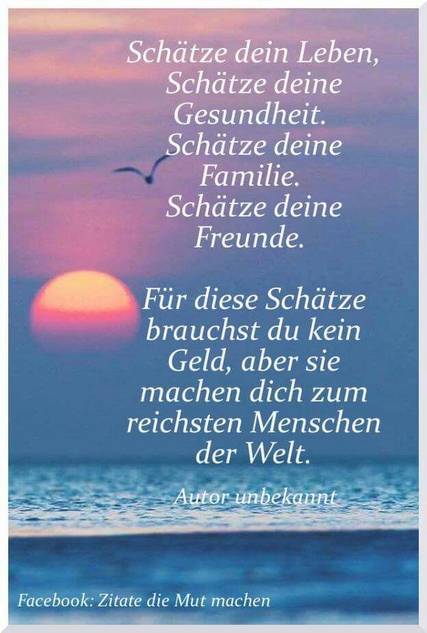 Spruche Schones Leben.Pin Auf Auf Deutsch