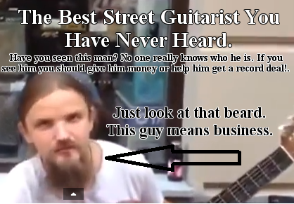 best street guitarist you never heard of