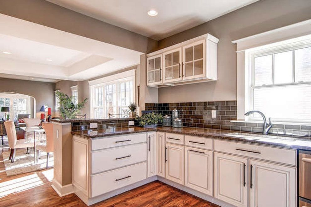 22+ Granite countertop ideas with white cabinets inspirations
