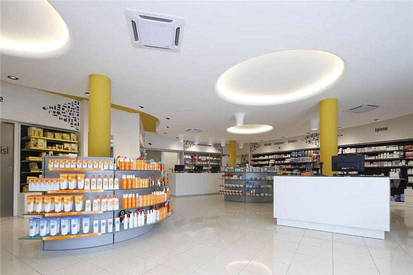 Modern Retail Pharmacy Interior Design Ideas 009 Retail Shop
