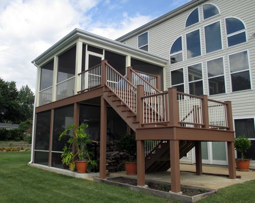 This St Louis County Screen Room And Barbeque Deck Feature