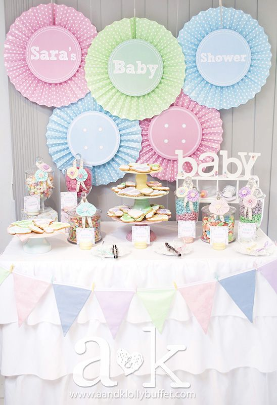 Gorgeous Cute As A Button Pastel Baby Shower Weheartparties