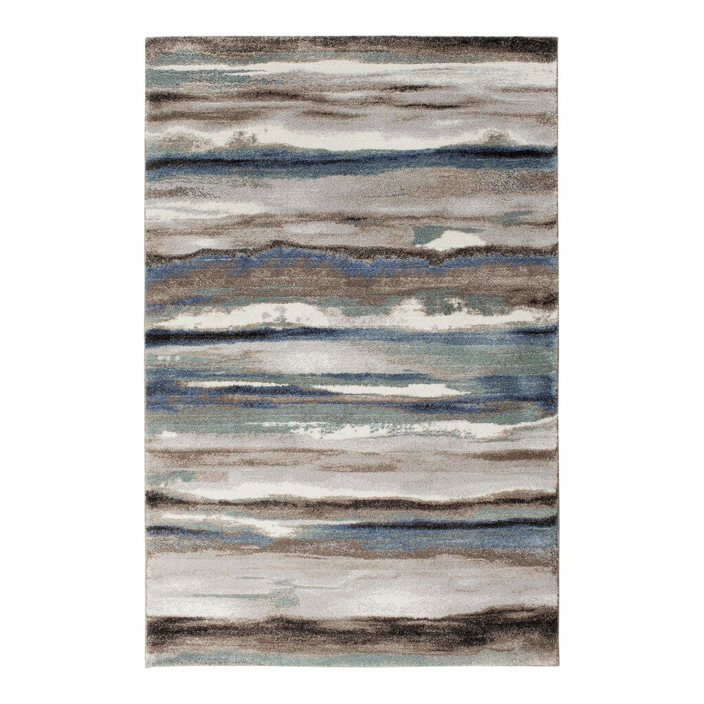 Tricia Yearwood Home Collection Maisie Woven Rug, Blue