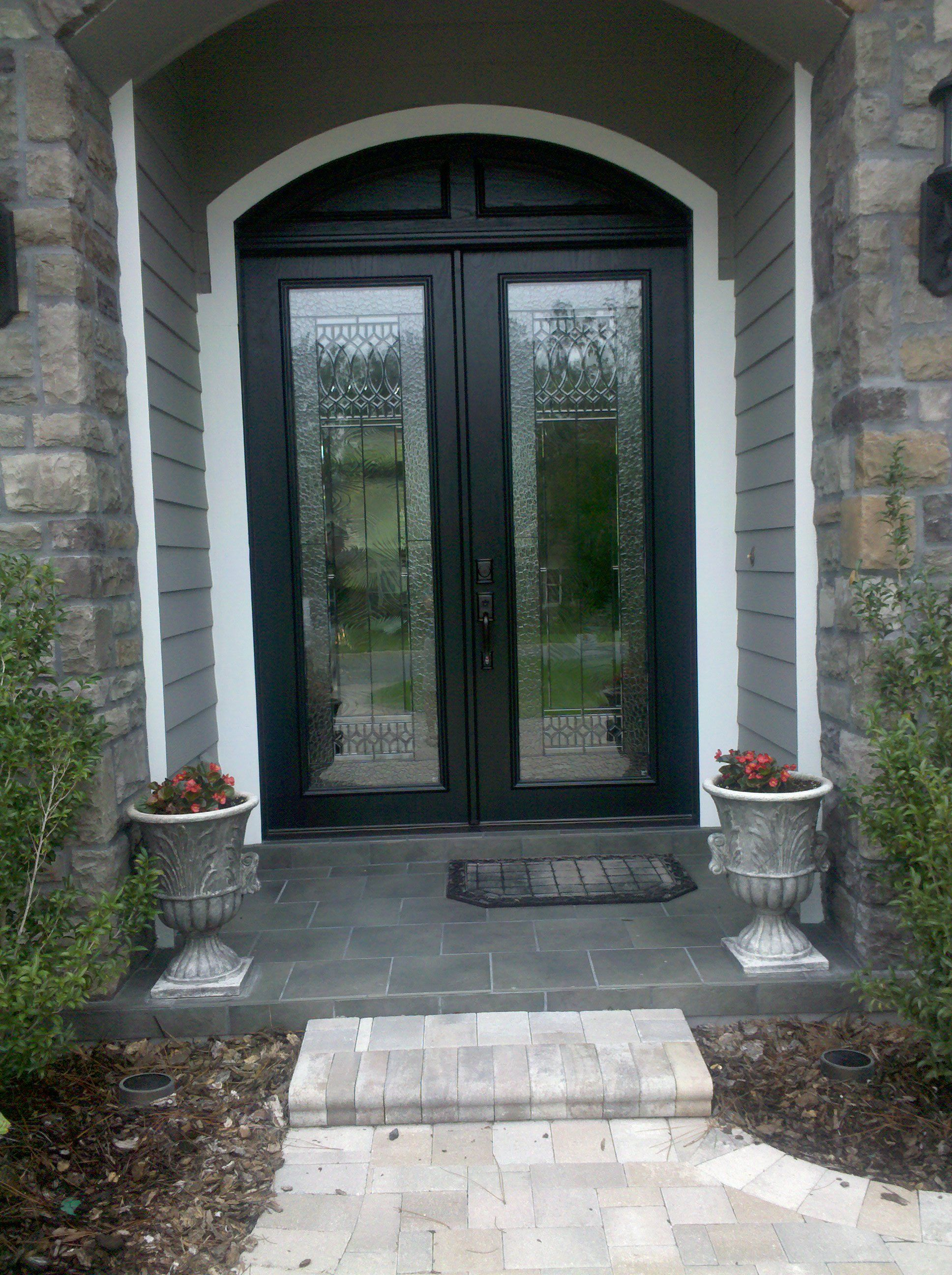 inserts door image doors glass custom decorative stained window for