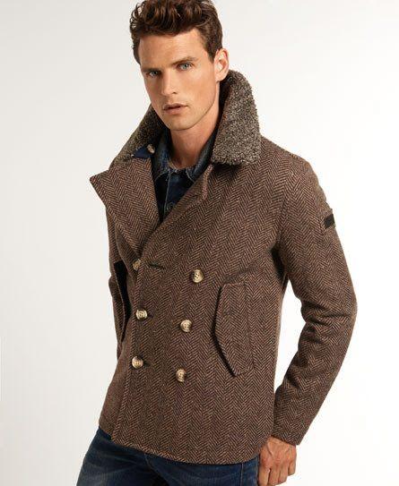 cb89b1f40 Superdry Caban Jermyn Street | fashion2 | Mode, Mode Homme et Veste