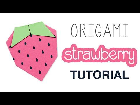 Origami Instructions Video Tutorials Origami 3 Mix Pinterest