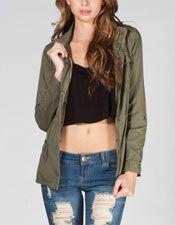 Women's Jackets & Vests: Hooded Jackets, Hooded Coats, Denim Vests, Knit Vests, Sweater Vests - Tillys.com