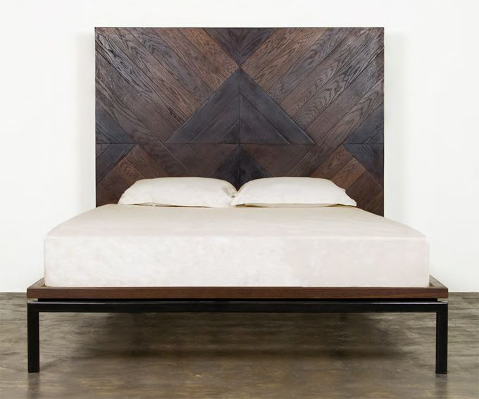Drake Platform Bed Clean Lines Minimal Detail And Lifted Base