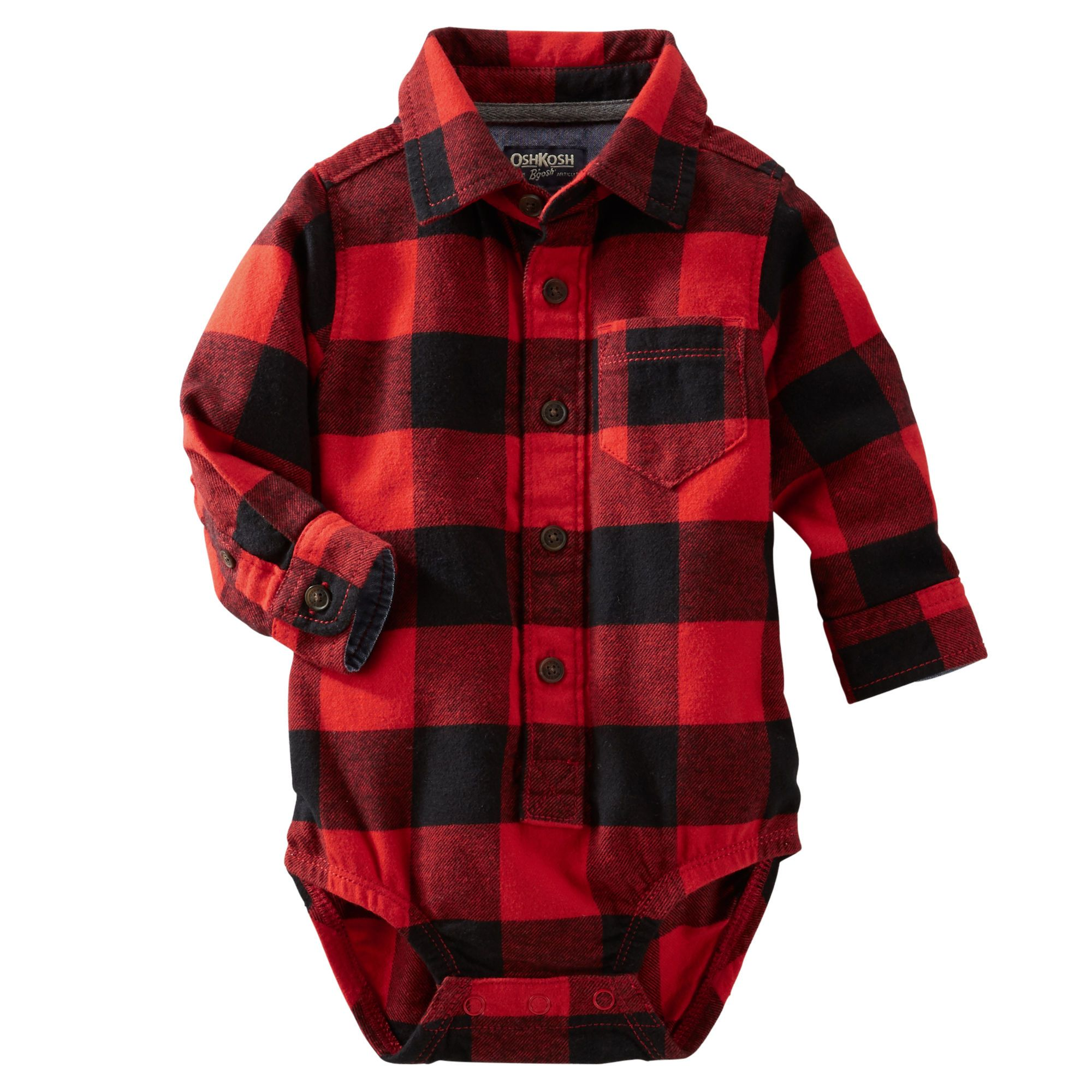 Buffalo Check Flannel Bodysuit From Carters Com Shop