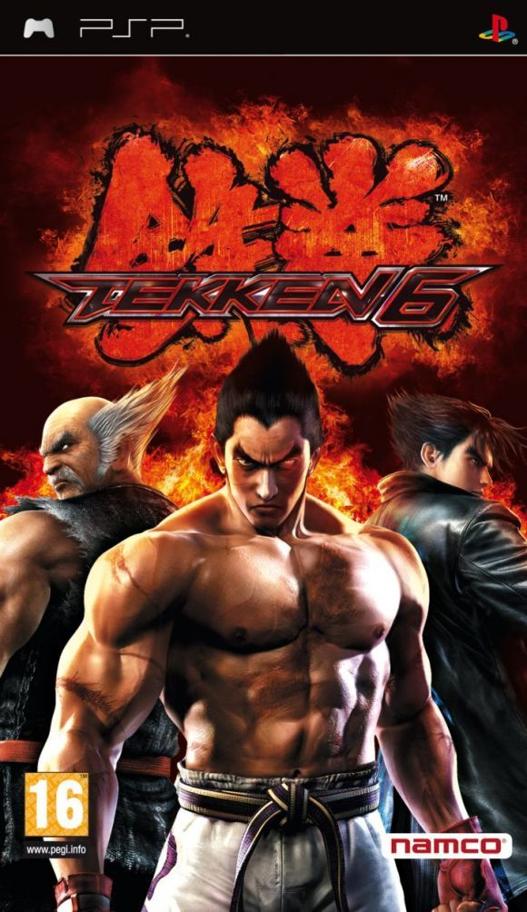 Tekken 6 Psp Español Full Eur Game Pc Rip Juegos De Psp Juegos De Lucha Juegos Pc