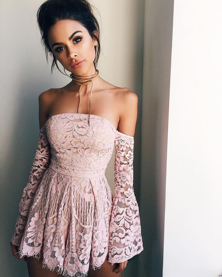 Outfit zu rosa kleid