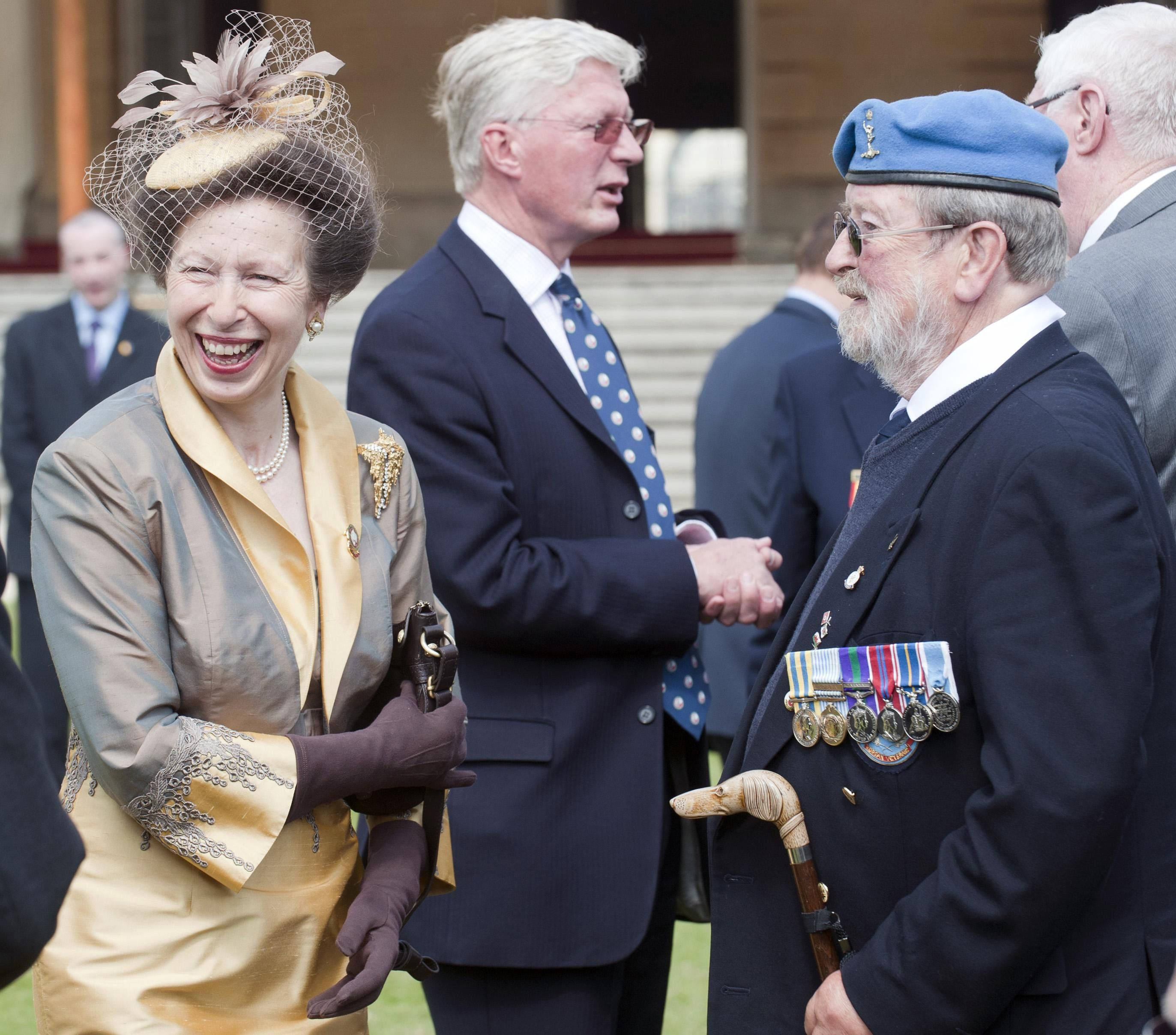 The Princess Royal Hosts The Not Forgotten Associations Annual Christmas