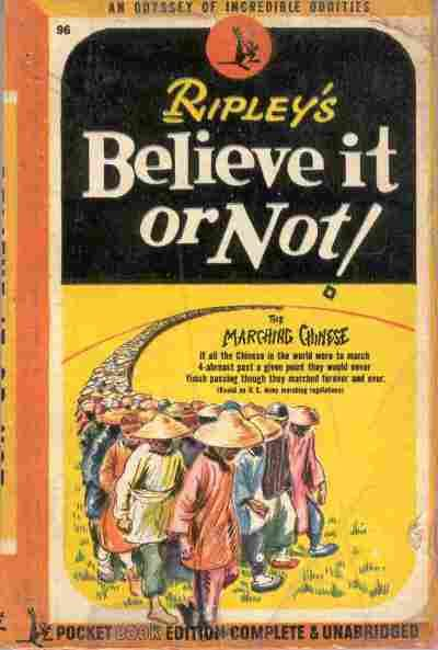 An odyssey of incredible oddities. December 1945.