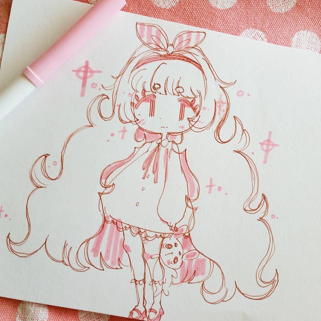 Sieh Dir Dieses Instagram Foto Von Kikkorii An Gefallt 3 732 Mal Cute Art Art Anime Drawings